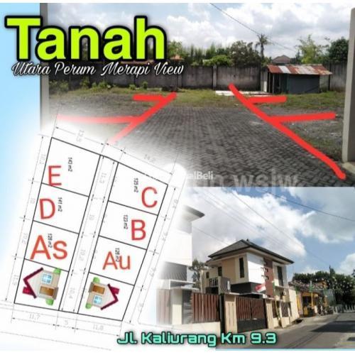 Dijual TANAH Lt 788m2 SUDAH PECAH 6 KAVLING-tinggal BANGUN. AKSES JALAN 5meter - Sleman
