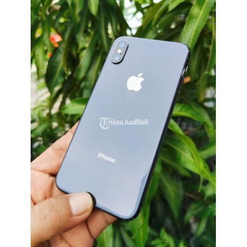 HP iPhone Xs 256GB Space Grey Fullset Bekas Fungsi Normal Harga Nego - Surabaya