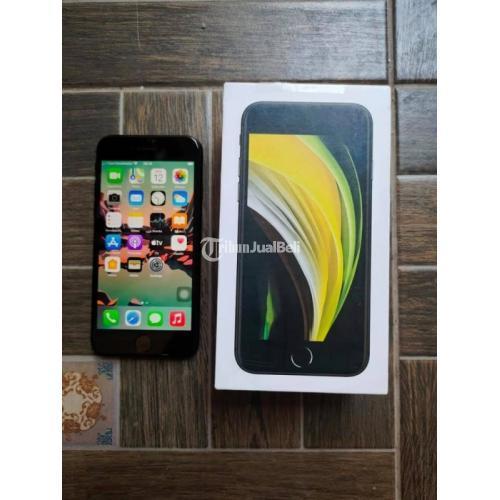 HP Apple iPhone SE 2020 64GB Bekas Inter Mulus Like New Fullset - Bandung