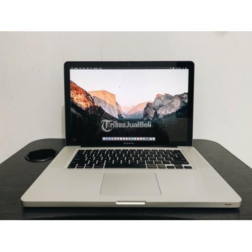 Laptop Macbook Pro 15 i7 RAM 8GB SSD 256GB Bekas Like New Mulus - Bandung