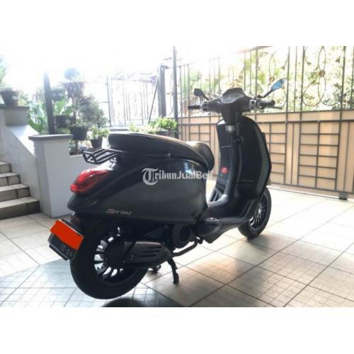 Motor Vespa Sprint 2015 Bekas Mulus Mesin Sehat Surat Aman Pajak Isi - Bandung