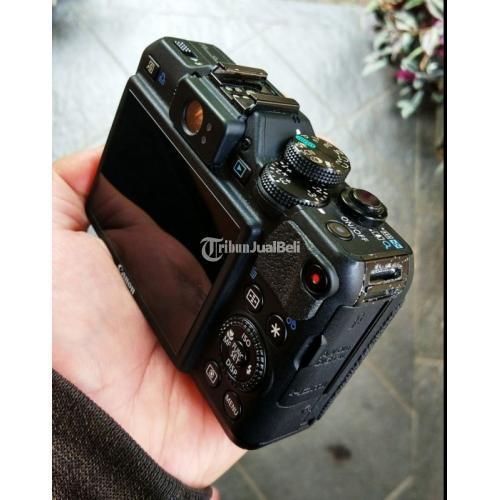 Kamera Compact G15 Canon Bekas Original Japan Normal No Vignet - Cimahi