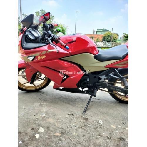 Motor awasaki Ninja 250cc 2012 Surat Lengkap Bekas Normal Bisa TT - Jakarta Timur