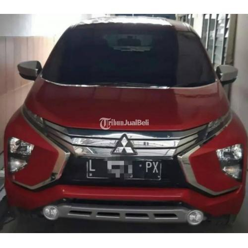 Mobil Mitsubishi Xpander 2018 Merah Metalik Bekas Normal Pajak Panjang - Sidoarjo