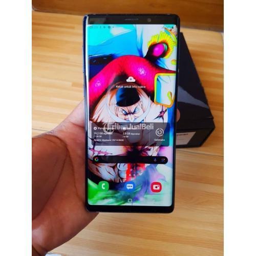 HP Samsung Galaxy Note 9 SEIN 6/128GB Bekas Lengkap Normal Segel - Semarang