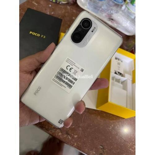 HP Xioami Poco F3 8/256GB White Bekas Like New Mulus BNOB - Jogja