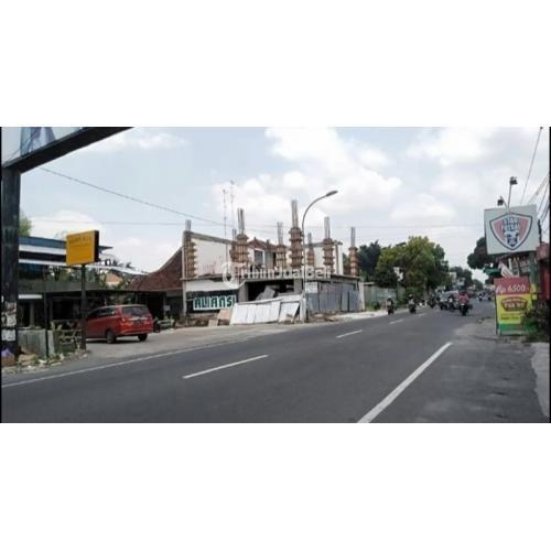 Dijual  TANAH Lt 2029m² tepi Jl KALIURANG Km9,7 SELATAN kantor POLSEK-KEC Ngaglik- Sleman