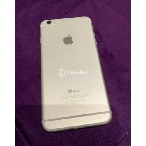 HP iPhone 6 Plus 64GB Silver Bekas Kondisi Normal Mulus Harga Nego - Jakarta Pusat