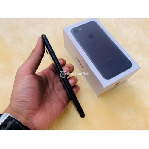 HP iPhone 7 256GB Bekas Fullset Original Kondisi Normal Mulus No Minus - Yogyakarta