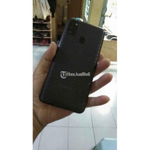 HP Samsung M21 Fullset Batertai 6000mAh Bekas Kondisi Normal Mulus - Cimahi