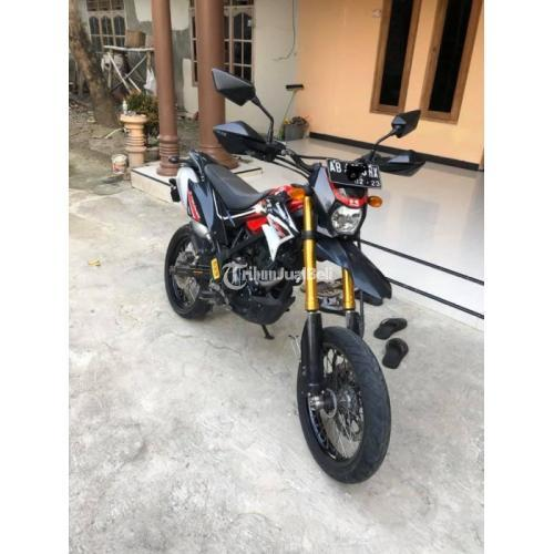 Motor Kawasaki KLX 2018 Mesin Standar Bekas Full Orisinil Harga Nego - Klaten