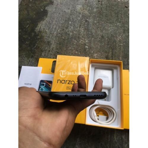 HP Realme Narzo 20 Pro Ram 8GB/128GB Bekas Fullste Baterai Awet - Denpasar