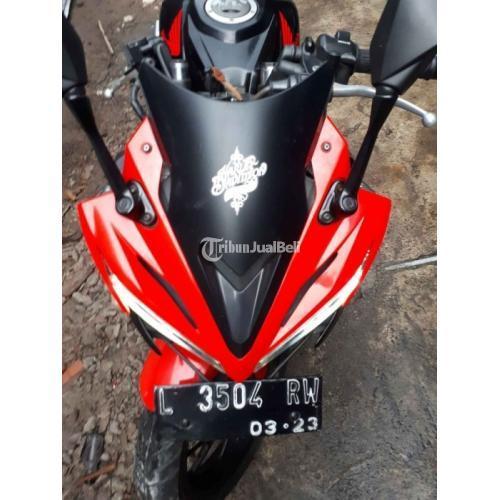 Motor Honda CBR 2018 Merah Hitam Surat Lengkap Pajak Hidup Bekas - Surabaya