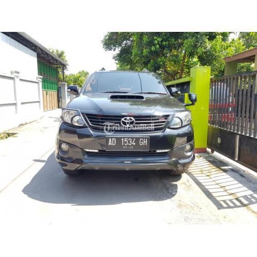 Mobil Toyota Fortuner VNT TRD 2014 AT Diesel Surat Lengkap Bekas - Solo