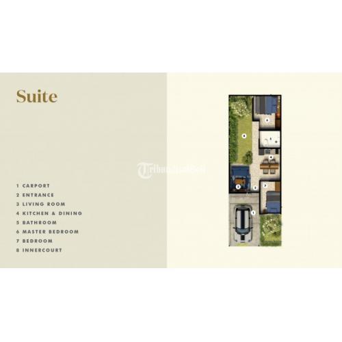Dijual Rumah Baru di Samanea Hill Cluster Avilla Rumah Modern Minimalis 400 Jutaan - Bogor
