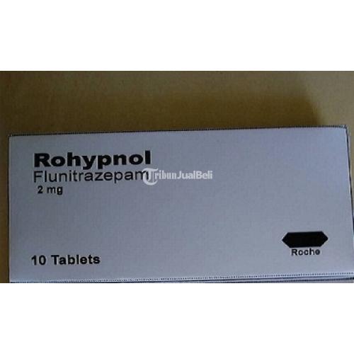 Rohypnol Obat Tidur Atasi Insomnia Stres Depresi, Pikun Isi 10 Tablet - Jakarta Barat