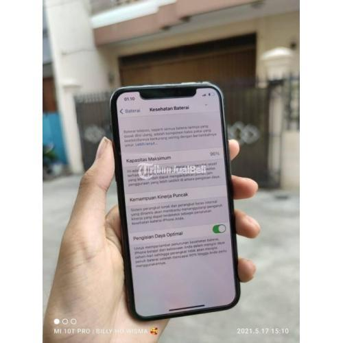 HP iPhone 11 Pro 256GB Ex Internasional Bekas Original Fullset Mulus - Jakarta Pusat