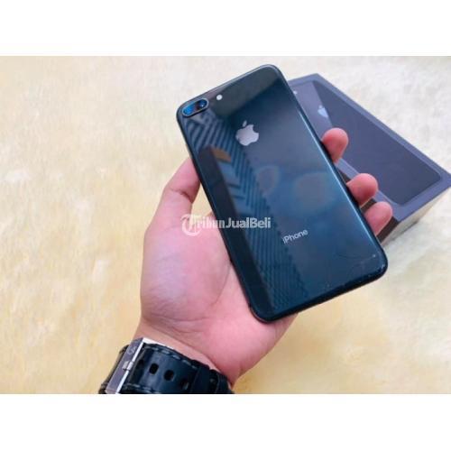 HP iPhone 8 Plus 64Gb Fisik 90% Mulus Bekas Fullse Original Garansi - Yogyakarta