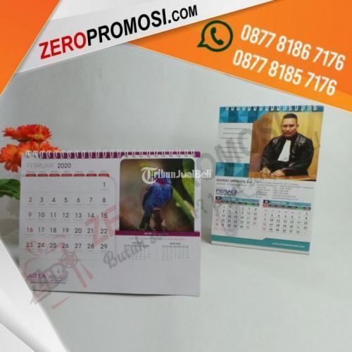 Sedia Cetak Souvenir Kalender Duduk Meja Custom Termurah - Tangerang