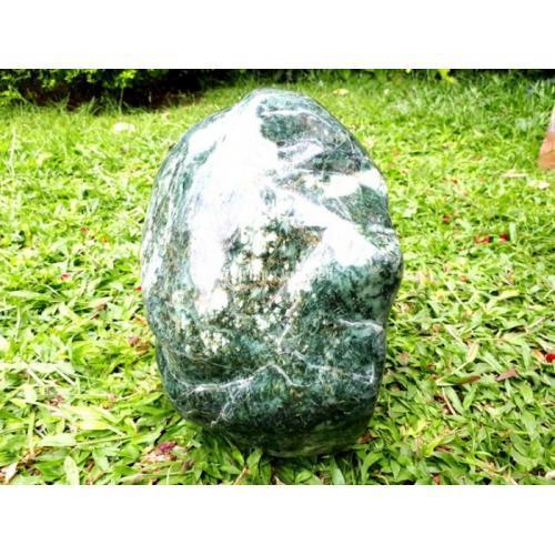 Bahan Batu Giok Jade RJD001 Jumbo Natural Sudah Dipoles - Jakarta Pusat