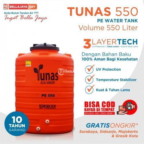 Tandon Air SBY 550 Liter Sistem Lightblock Harga Murah - Surabaya