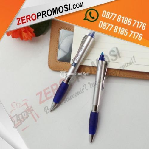 Souvenir Pen Plastik Stabilo Bisa Cetak Logo Kualitas Terbaik - Tangerang