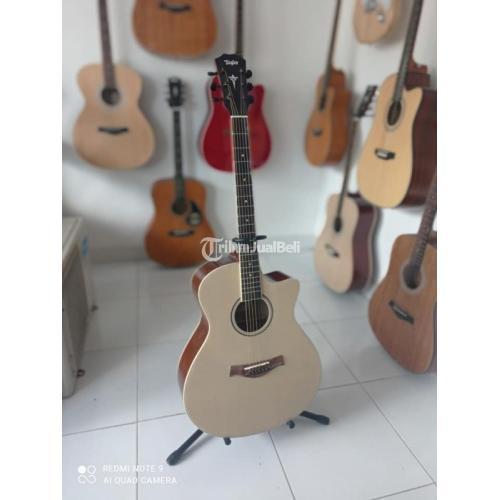 Guitar Accoustic Taylor New Body Mulus No Minus Bergaransi Bonus Pik - Badung