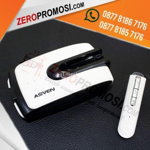 Powerbank Bluetooth Headset 5.200mAh BTHF01 Indicator Lampu - Tangerang