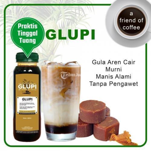 Glupi Gula Aren Murni Cair Praktis Untuk Es Kopi Cincau Boba Susu Gula Kawung - Bekasi