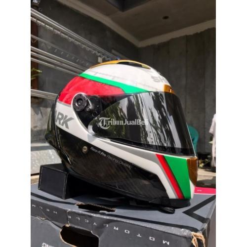 Helm Shark Race R Pro Carbon Racing Division Size M Bekas Bagus - Wonosobo