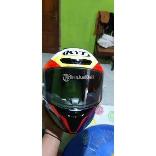 Helm Full Face KYT YYC Jaumemasia Bekas Bagus Mulus Lengkap - Salatiga
