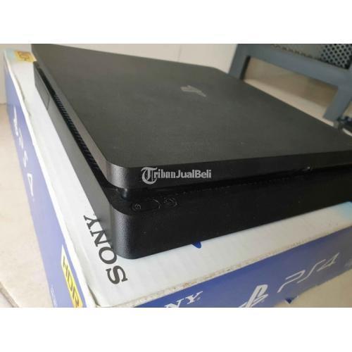 Konsol Game Sony PS4 Slim Jet Black 1TB CUH 2218B Bekas Normal Segek Void - Depok