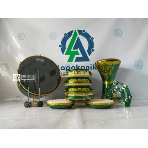 Alat Hadroh Lengkap Versi Ukir Kaligrafi Arab Bahan Premium Bisa Custom - Jepara