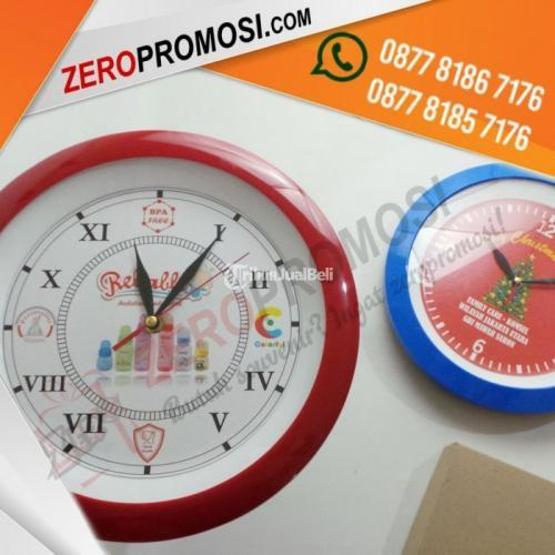 Produksi Souvenir Jam Dinding Promosi Kode 218P Cetak Logo Murah - Banten