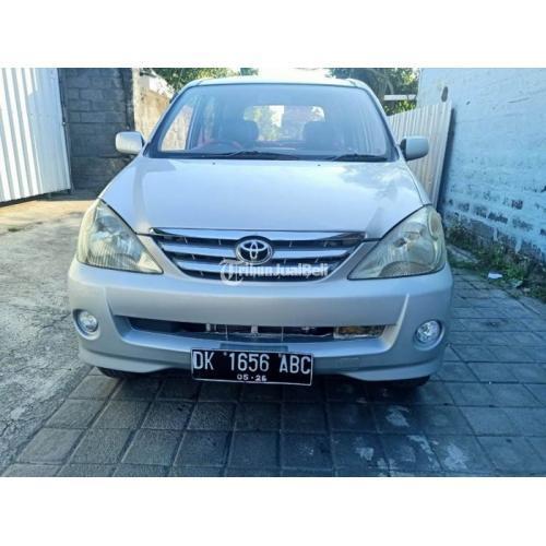 Mobil Toyota Avanza G 2004 Silver Bekas Siap Pakai Samsat Baru Harga Nego - Denpasar