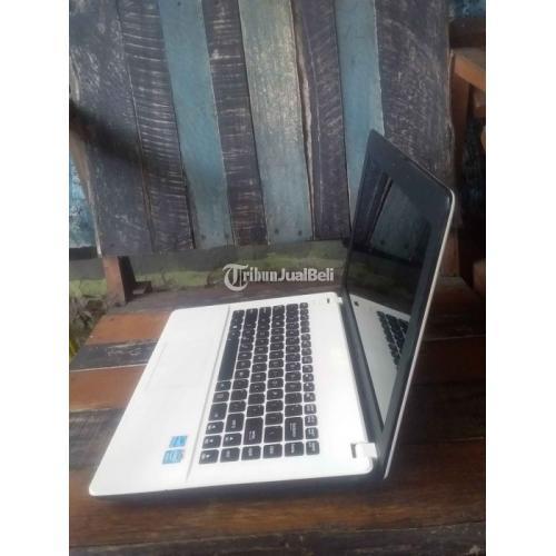 Laptop Asus X451cp Ram 2GB Hardisk 500GB Windows 10 Bekas Normal - Denpasar