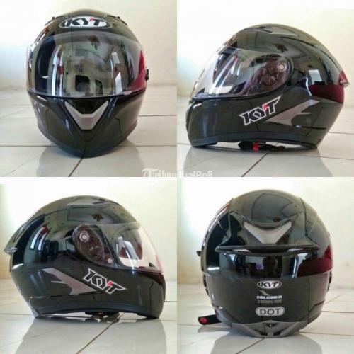 Helm KYT Falcon II Size L Bekas Like New Mulus Jarang Pakai - Banjar