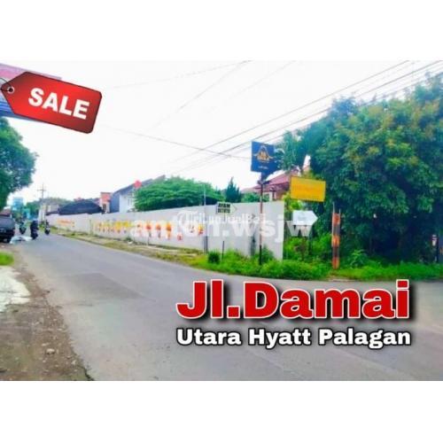 Dijual Tamaha Jl Damai-Utara HYATT Palagan.Luas 167m ld15m.Kuliner-ruko-Apotek - Jogja