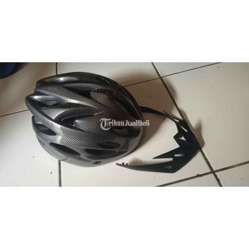 Helm Sepeda All Size Motif Carbon News Bisa Sesuaikan Dengan Ukuran - Depok