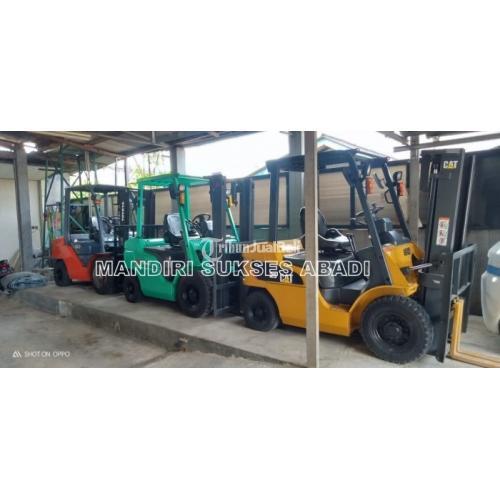 Rental Forklift Sewa Forklift BSD 24 Jam Include BBM Harga Terjangkau - Tangerang Selatan