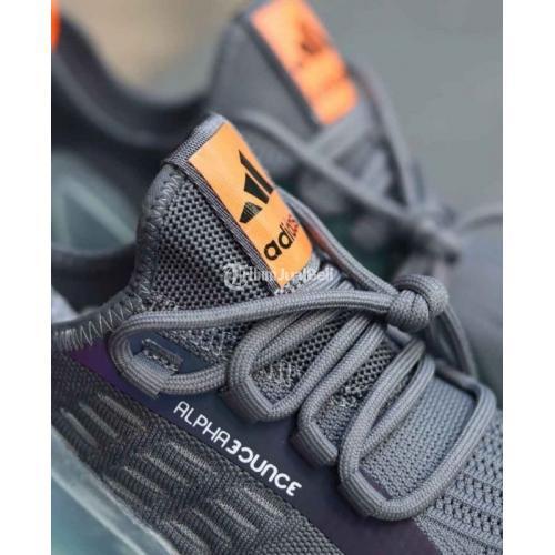 Sepatu Alphabounc Beyond 2020 Cool Grey Baru BNIB Harga Murah - Surabaya