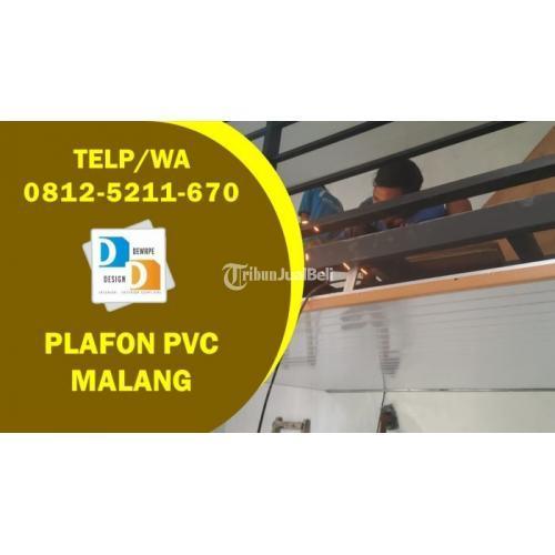 Plafon PVC Melayani Pemasangan Berpengalaman - Malang