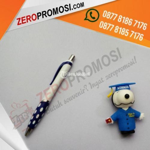 Souvenir Pen Unik Pen Bintik Custom Cetak Logo Murah - Tangerang