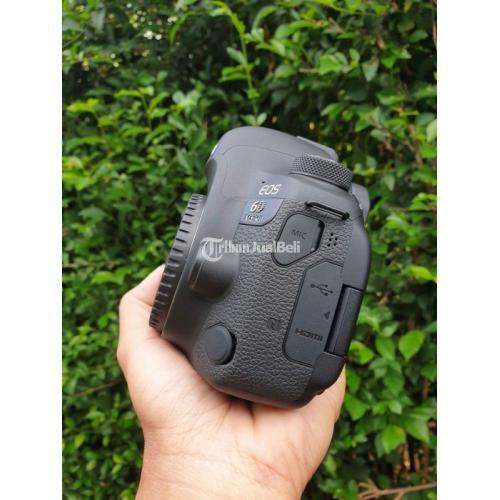 Kamera Canon 6D Mark II Bekas Kondisi Normal Fullset Mulus No Minus - Bogor