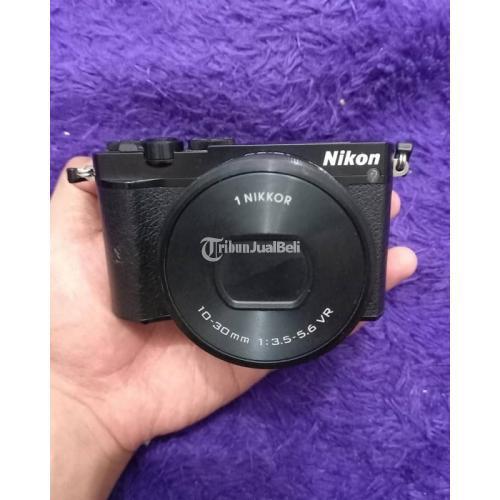 Kamera Nikon 1 J5 + Lensa Kit 10-30mm F3.5-F5.6mm VR Second Mulus - Kebumen