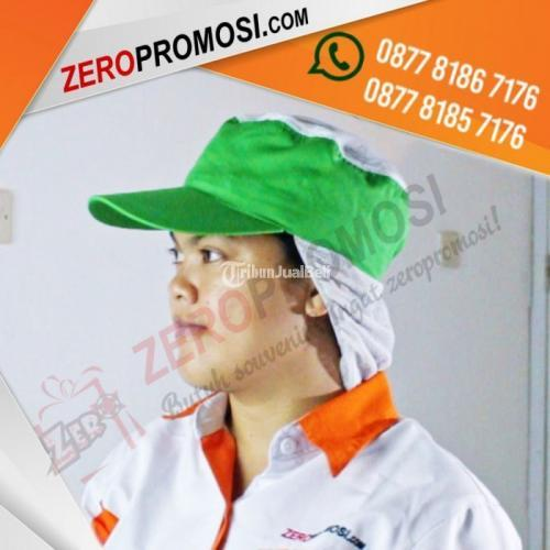 Souvenir Topi Pabrik Pet Sanggul Custom Murah - Tangerang