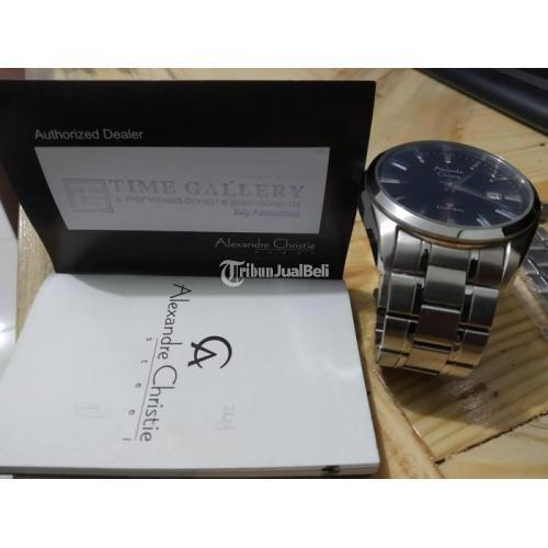 Jam Tangan Alexandre Christie 8515MD Water Resistant 3ATM Second - Jogja