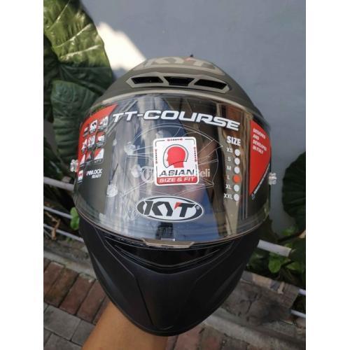 Helm Full Face KYT TTC Black Doff Size L Baru BNIB Keluaran Terbaru - Solo