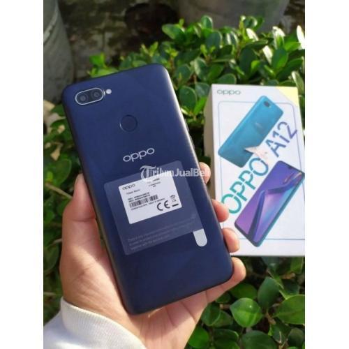 HP Oppo A12 Fullset 4GB/64GB Bekas Fungsi Normal Mulus No Minus Nego - Padang