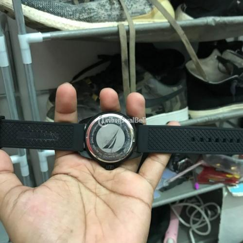 JamTangan Nautica A1163F Black No Box Bekas Fungsi Normal - Surabaya